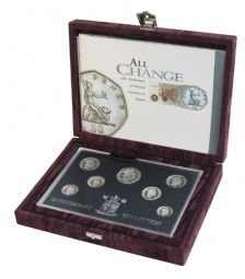 1996 Silver Proof Anniversary Collection Set